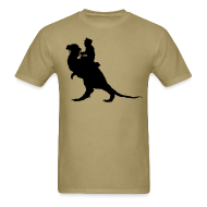 T-Shirts ~ Men's T-Shirt ~ StarWars TaunTaun Riding T-Shirt