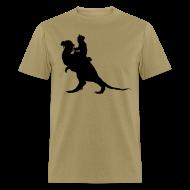 T-Shirts ~ Men's T-Shirt ~ StarWars TaunTaun Riding T-Shirt