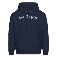 Hoodies ~ Men's Hooded Sweatshirt ~ Los Angeles Hoodie