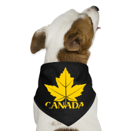 Other ~ Dog Bandana ~ Canada Souvenir Dog Bandana Maple Leaf Gift