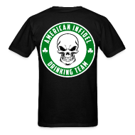 T-Shirts ~ Men's T-Shirt ~ American Infidel Drinking Team