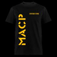 T-Shirts ~ Men's T-Shirt ~ MACP Insructor Knee Logo