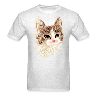 T-Shirts ~ Men's T-Shirt ~ Artistic Cat