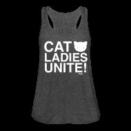 Tanks ~ Women's Flowy Tank Top by Bella ~ Cat Ladies Unite!