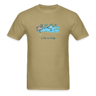 T-Shirts ~ Men's T-Shirt ~ Posted No Fishing - Men's Classic Tee