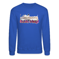 Long Sleeve Shirts ~ Men's Crewneck Sweatshirt ~ Boblo Island