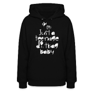 Hoodies ~ Women's Hooded Sweatshirt ~ TEENAGE DIRTBAG