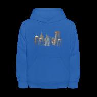 Sweatshirts ~ Kids' Hooded Sweatshirt ~ I Love This City
