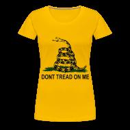 Women's T-Shirts ~ Women's Premium T-Shirt ~ Dont Tread On Me - Women's