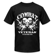 T-Shirts ~ Men's T-Shirt by American Apparel ~ Afghan Combat Vet