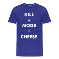 T-Shirts ~ Men's Premium T-Shirt ~ Kill + Mode = Cheese