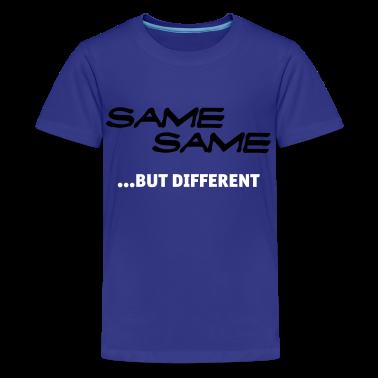 Turquoise Same Same But Different 1 (2c, NEU) Kids' Shirts