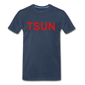 Navy TSUN w/ Red ~ 1850
