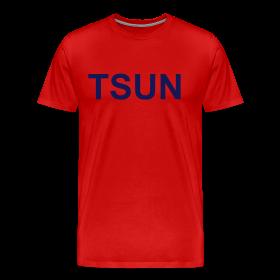 Red TSUN w/ Navy ~ 1850