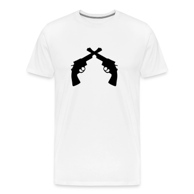 Gun turret Weapon revolver T-Shirts