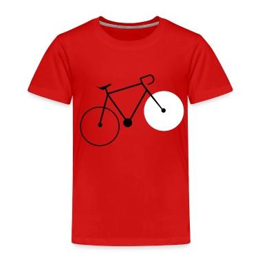 bike fahrrad fixie bike Toddler Shirts