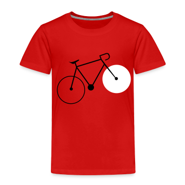 bike fahrrad fixie bike Toddler Shirts