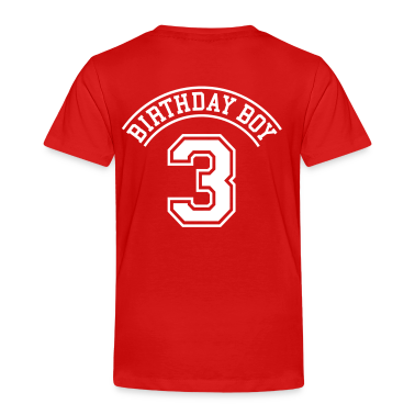 Birthday boy 3 years Toddler Shirts