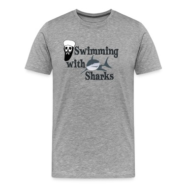 Osama Bin Laden swimming with sharks T-Shirts
