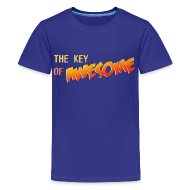 Kids' Shirts ~ Kid's Premium T-Shirt ~ The Key of Awesome Kids Logo