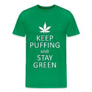 T-Shirts ~ Men's Premium T-Shirt ~ Stay Green