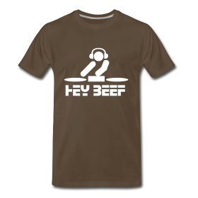 DJ Hey Beef t-shirt ~ 1850