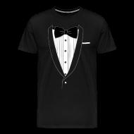 T-Shirts ~ Men's Premium T-Shirt ~ Tuxedo T Shirt