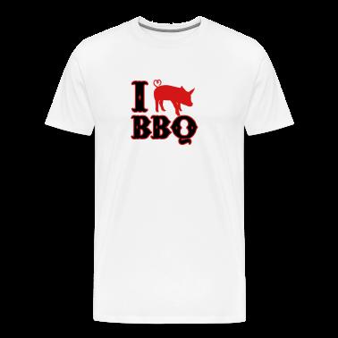 I love BBQ T-Shirts