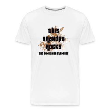 Grandpa - This Grandpa Rocks T-Shirt