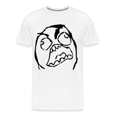 RageFace HD VECTOR T-Shirts
