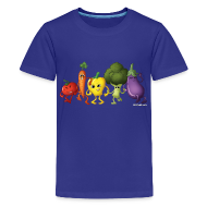 Kids' Shirts ~ Kid's Premium T-Shirt ~ Kids' Veggie Rainbow T-Shirt