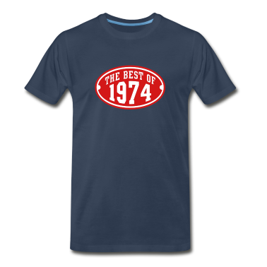 THE BEST OF 1974 2C Birthday Anniversary T-Shirt