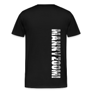 T-Shirts ~ Men's Premium T-Shirt ~ MannyZoom Skyscraper Heavy T-Shirt