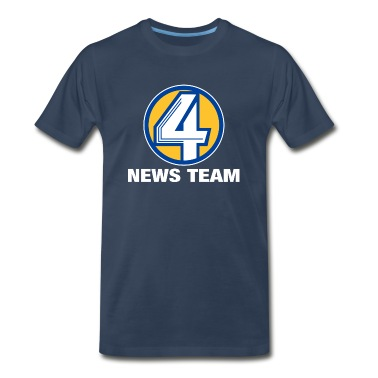 Channel 4 News Team Heavyweight T-Shirt