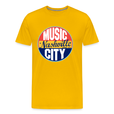 Nashville Vintage Label Heavyweight T-Shirt