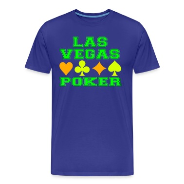 Las Vegas poker cards T-Shirts