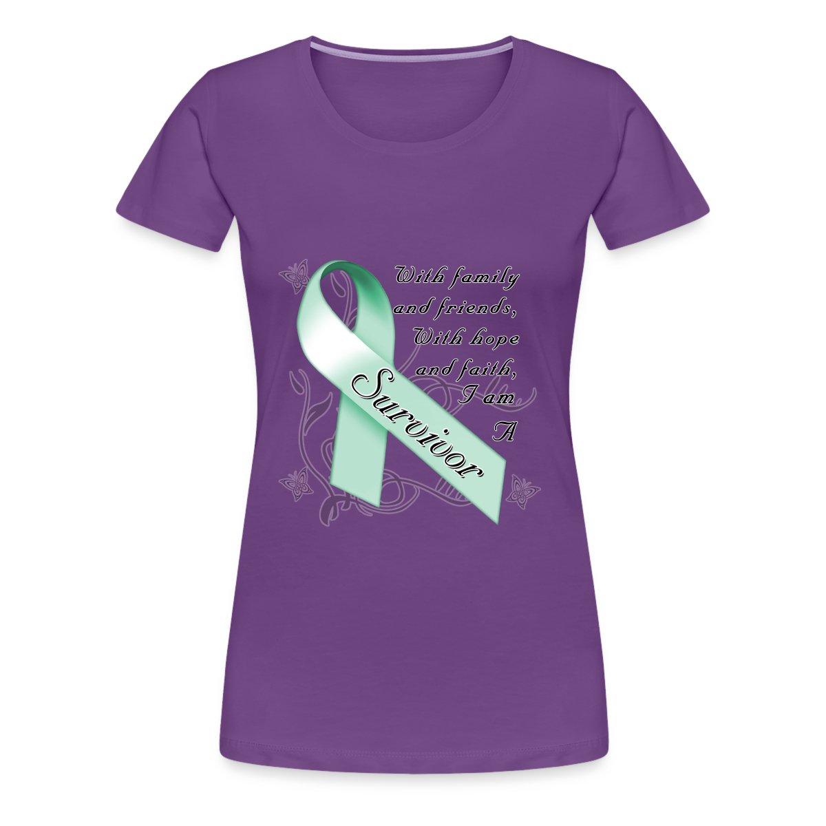 Ovarian Cancer Survivor Women 39 S T Shirts Women 39 S T Shirt