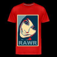 T-Shirts ~ Men's Premium T-Shirt ~ Rawr status