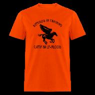T-Shirts ~ Men's T-Shirt ~ Pegasus CAMP Half-Blood Men's T-Shirt