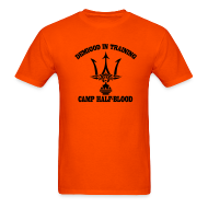 T-Shirts ~ Men's T-Shirt ~ POSEIDON DEMIGOD T-Shirt - Adult Size