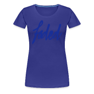 Women's T-Shirts ~ Women's Premium T-Shirt ~ trademarked faded