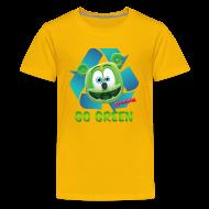 Kids' Shirts ~ Kid's Premium T-Shirt ~ Gummibär Recycle Earth Day Kid's T-Shirt