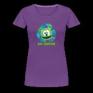 Women's T-Shirts ~ Women's Premium T-Shirt ~ Gummibär Recycle Earth Day Women's T-Shirt