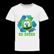 Baby & Toddler Shirts ~ Toddler Premium T-Shirt ~ Gummibär Recycle Earth Day Toddler T-Shirt