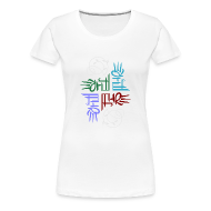Women's T-Shirts ~ Women's Premium T-Shirt ~ Elemental full-color women's T
