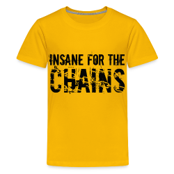 Insane for the Chains Front and Back Print Disc Golf Shirt - Kid's Shirt