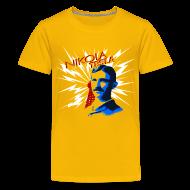 Kids' Shirts ~ Kid's Premium T-Shirt ~ Nikola Tesla