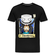 T-Shirts ~ Men's Premium T-Shirt ~ Chilled is Slenderman (Heavy T-Shirt)