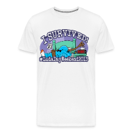 T-Shirts ~ Men's Premium T-Shirt ~ I Survived #LudaDayWeekend