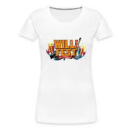 WILLiFEST Women's Fitted Classic Tee